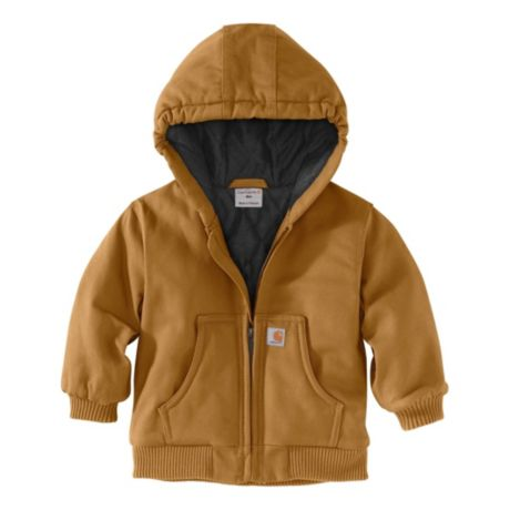 Carhartt® Infants'/Toddlers' Active Flannel Quilt-Lined Jacket