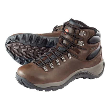 Merrell Reflex All Leather Mid Waterproof Hiking Boots for Men