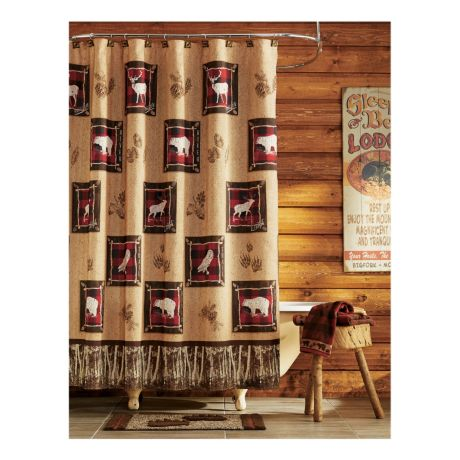 Saturday Knight Ltd. Shower Curtains - Sundance