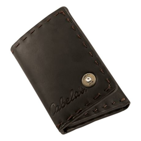 Cabela's Rifleman Oil Tan Leather Wallets - Trifold