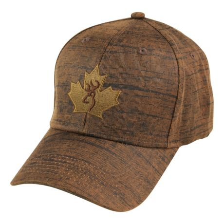 Browning® Men's Durawax Maple Leaf Cap