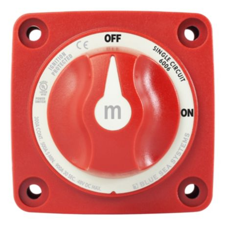 Blue Sea m-Series Mini On-Off Battery Switch
