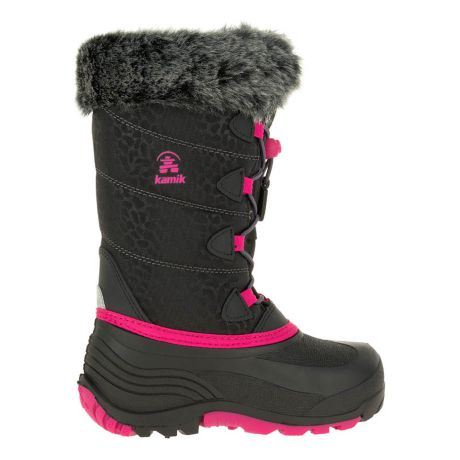 Kamik® SnowGypsy 3 Youth Winter Boot - Black/Rose