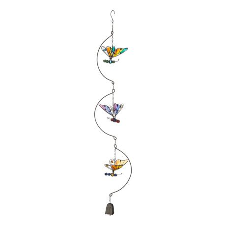 Sunset Vista Designs® Multicolour Butterfly Trio Dangler