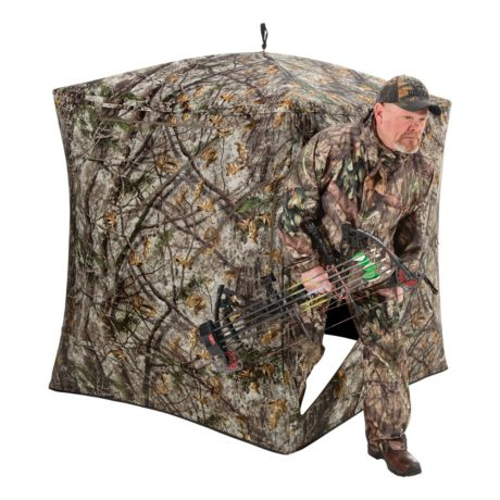 Pursuit Hub Ground Blind - In the Field