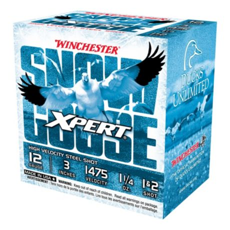 Winchester® Xpert Snow Goose Shotshells - 3 Inches - 1-1/4 oz. - 1 & 2 Shot