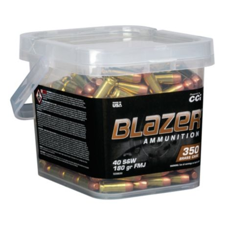 Blazer® Brass Pistol Ammunition Bucket - .40 S&W