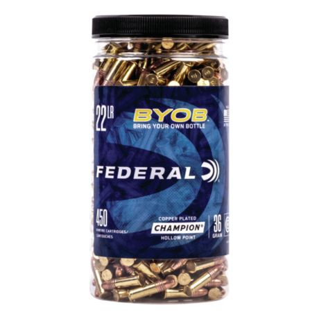 Federal® Rimfire BYOB™ Ammunition - .22 LR - 450 Rounds