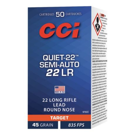 CCI® Quiet-22 Rimfire Ammunition