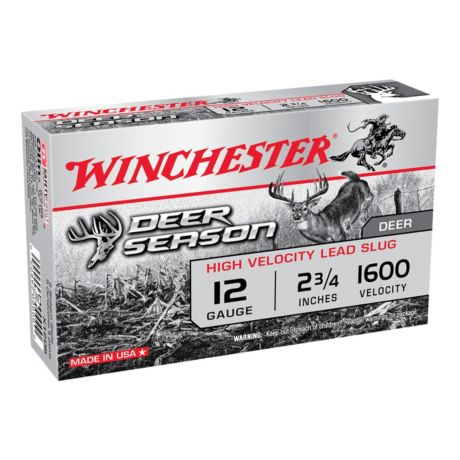 Winchester® Deer Season 12 Gauge Slugs