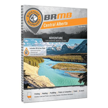 Backroad Mapbooks Central Alberta Mapbook 5th Edition