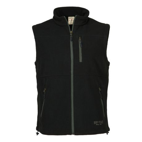 RedHead® Men's Fleece Vest - Black