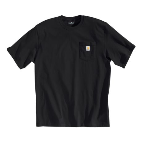 Carhartt® Men's Short-Sleeve Workwear Pocket T-Shirt - Black