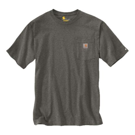 Carhartt® Men's Short-Sleeve Workwear Pocket T-Shirt - Carbon Heather