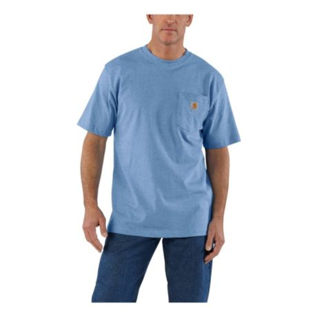 Carhartt® Men's Short-Sleeve Workwear Pocket T-Shirt - French Blue