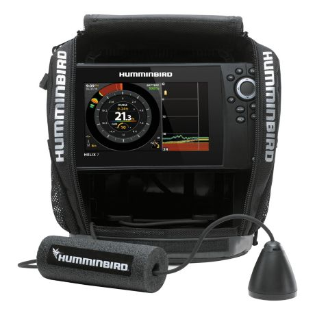 Humminbird® Ice Helix™ 7 CHIRP GPS G3N All Season Bundle