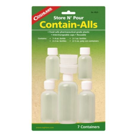 Coghlan's Contain-all Bottles