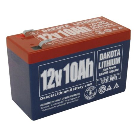Dakota Lithium 12-Volt 10 AH Battery