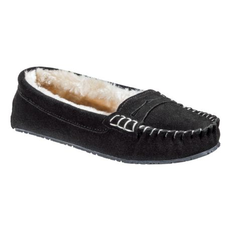 Natural Reflections® Women's Allie Moc Slippers - Black