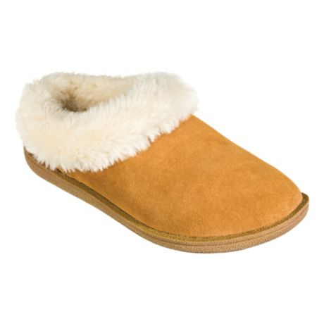 Natural Reflections® Women's Lexi Scuff Slippers - Chestnut