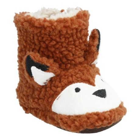 Outdoor Kids Fox Booties for Babies