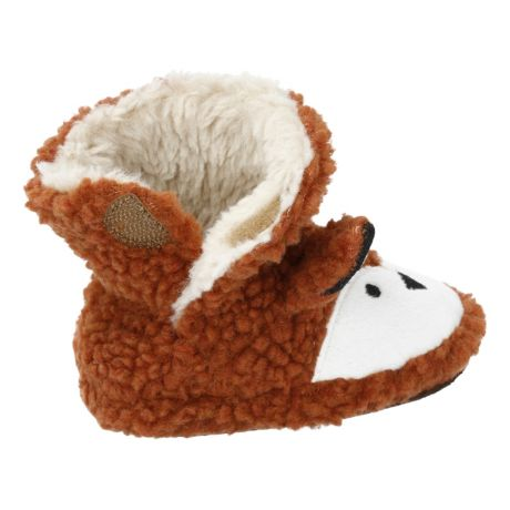 Outdoor Kids Fox Booties for Babies - Side View
