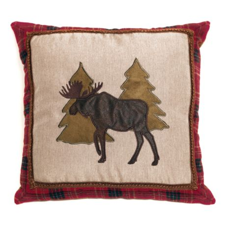 Carstens Moose and Trees Pillow