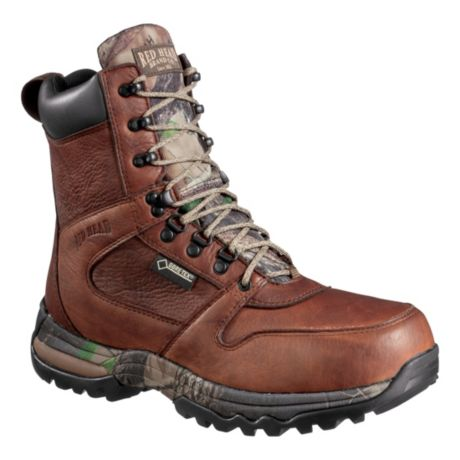 "RedHead® Men's 8"" Tracker Leather GORE-TEX® Insulated Hunting Boots"
