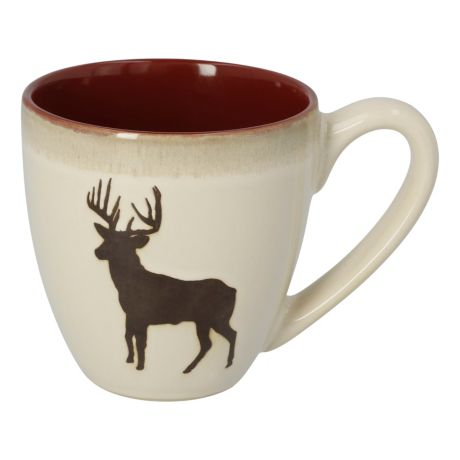 White River™ Country Lodge Mugs - Deer