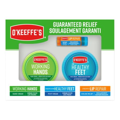 O'Keefe's 3 Piece Value Pack