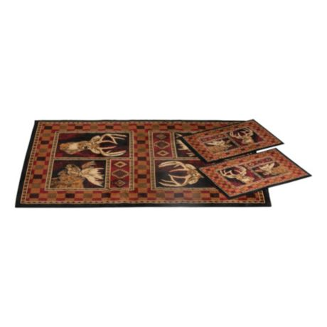 United Weavers Game Hunter 3-Piece Rug Set