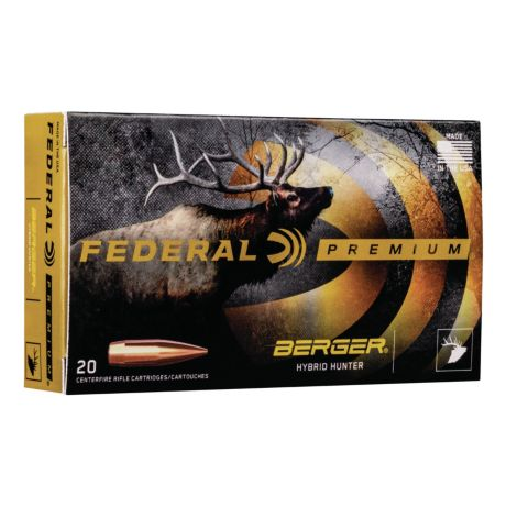 Federal® Berger® Hybrid Hunter Ammunition