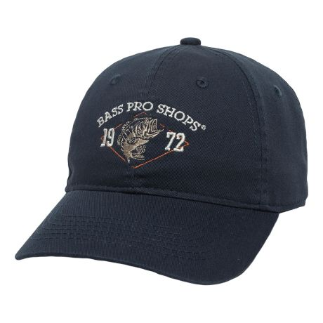 Bass Pro Shops® Men's Fish Cap - Navy