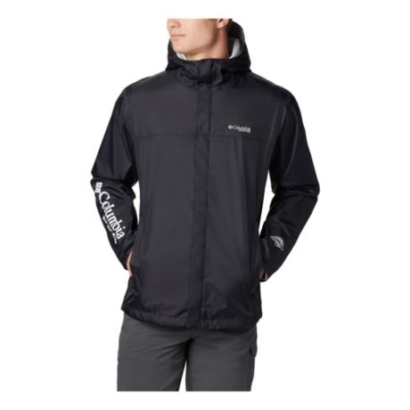 Columbia™ Men's PFG Storm Jacket - Black/Grey