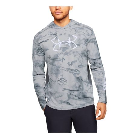Under Armour® Men's Iso-Chill Shore Break Hoodie - Pitch Grey
