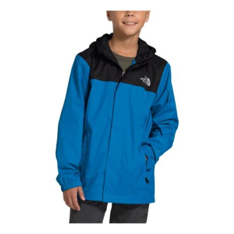 The North Face® Boys' Resolve Reflective Jacket - Clear Lake Blue