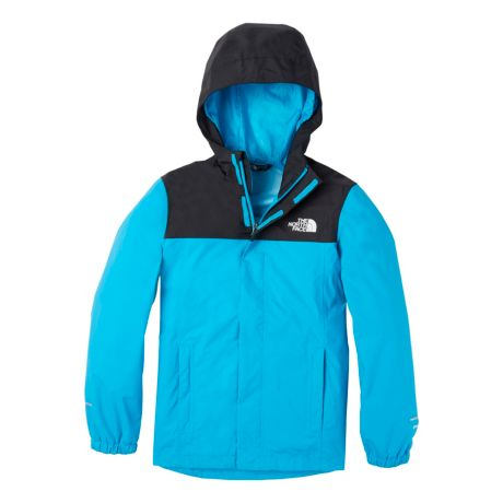 The North Face® Boys' Resolve Reflective Jacket - Meridian Blue/TNF Black