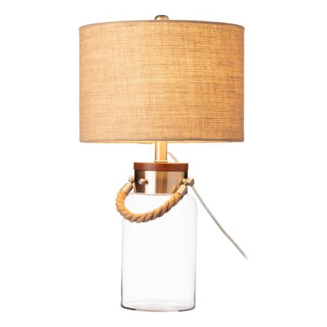 White River™ Fillable Glass Table Lamp