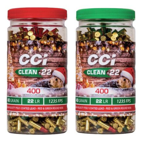 CCI® Clean-22 Rimfire Ammunition Christmas Pack