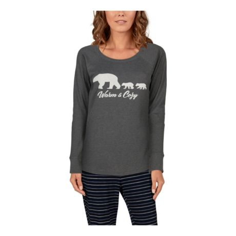 Natural Reflections® Women's Warm and Cozy Sleep Top