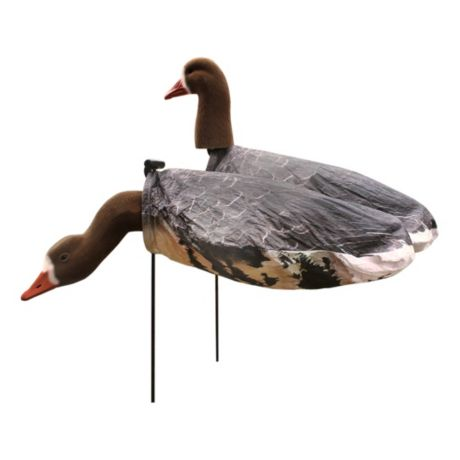 White Rock Decoys Specklebelly Goose Windsock Decoys