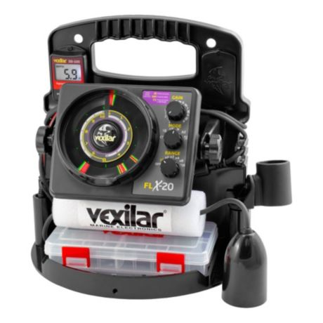 Vexilar® FLX-20 Pro Pack II with 12° Ice Ducer