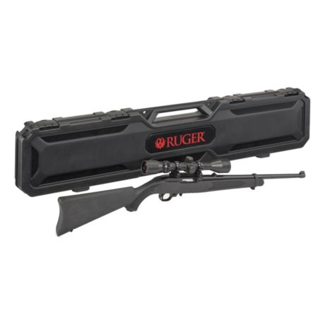 Ruger® 10/22 Semi-Automatic Rifle w/scope and Case
