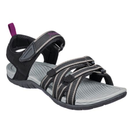 Natural Reflections® Women's Cape May Sport Sandals - Black
