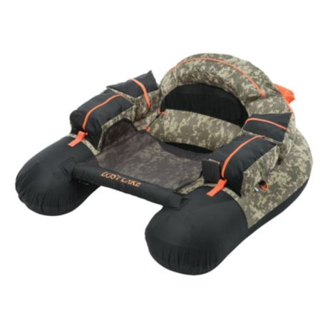 White River Fly Shop® Lost Lake™ Float Tube - Digital Camo/Black