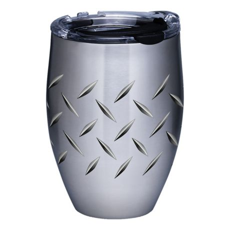Tervis 12 oz. Stainless Steel Tumblers - Diamond Plate