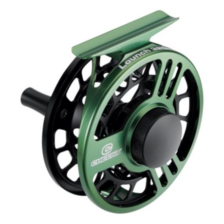 Cheeky® Launch Fly Reel - Green/Black -