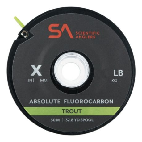 Scientific Anglers® Absolute Fluorocarbon Trout Tippet