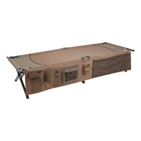 Cabela's® Camp Cot with Organizer