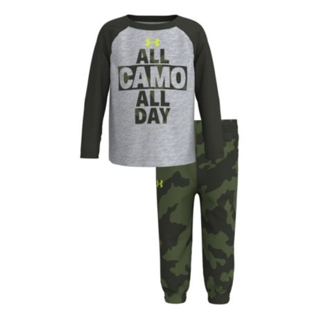 Under Armour® Infants' All Camo All Day Set